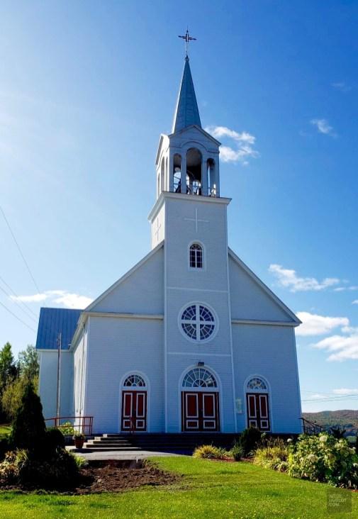 Église Saint-Zénon - Auberge du Lac Taureau - Amérique du Nord, Canada, Québec, Lanaudière, À haire, Hôtels, Roadtrip