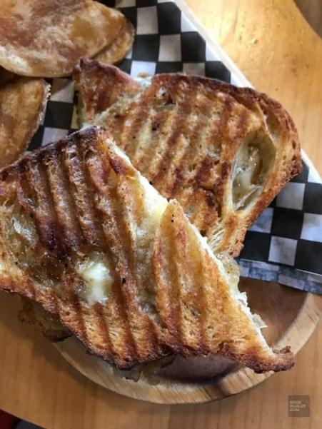 Grilled cheese - Auberge du Lac Taureau - Amérique du Nord, Canada, Québec, Lanaudière, À haire, Hôtels, Roadtrip