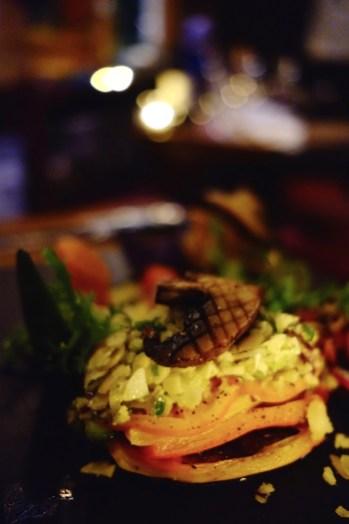 Millefeuille de légumes - Auberge du Lac Taureau - Amérique du Nord, Canada, Québec, Lanaudière, À haire, Hôtels, Roadtrip