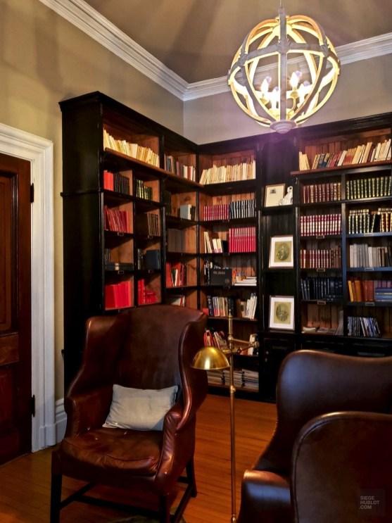 La bibliothèque - Les Forfaits - Le Manoir Maplewood - Amérique du Nord, Canada, Québec, Cantons-de-l'Est, Hôtels