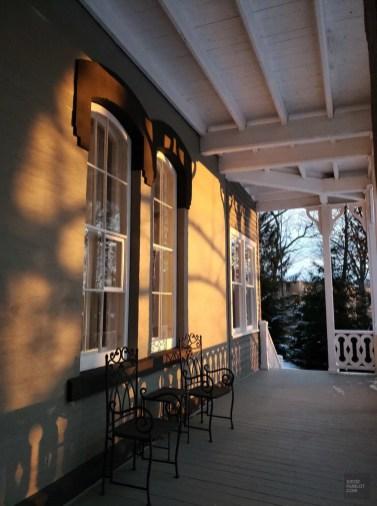 La galerie - L'Histoire - Le Manoir Maplewood - Amérique du Nord, Canada, Québec, Cantons-de-l'Est, Hôtels