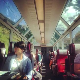 Glacier Express - Un transport public extrêmement efficace - Bâle, une ville au coeur de trois pays - Destination, Europe, Suisse