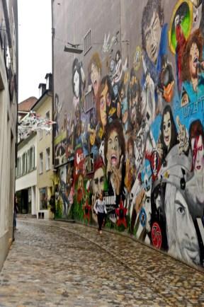 Murale - Une place importante pour l'Art et la Culture - Bâle, une ville au coeur de trois pays - Destination, Europe, Suisse