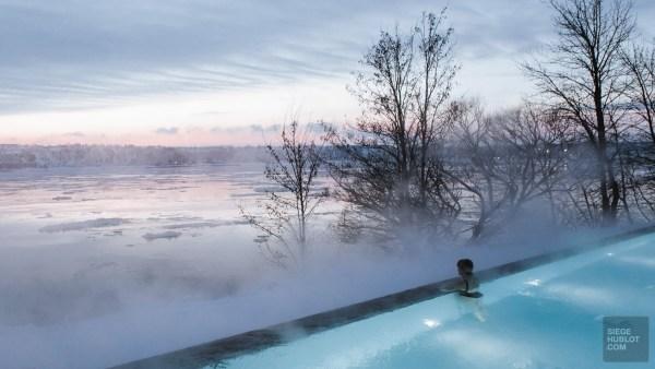 Le Strøm spa nordique du Vieux-Québec - Canada