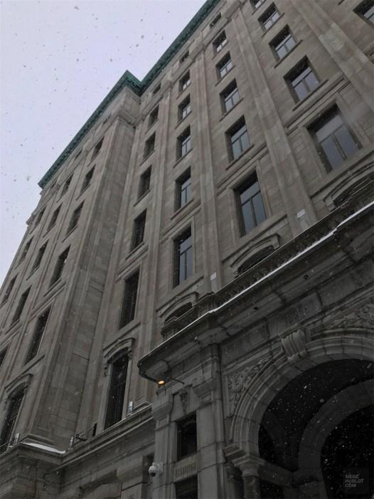 Architecture néo-classique - L'hôtel 71 - L'hôtel 71 dans le Vieux-Québec - Québec, Canada