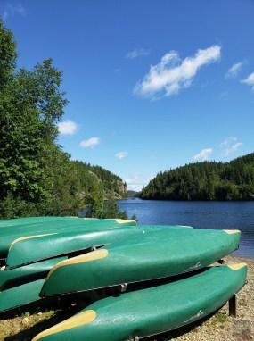 Canots - Mont-Brun et Nédélec - Une virée en Abitibi-Témiscamingue - Amérique du Nord, Canada, Québec
