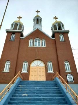 Église catholique ukrainienne du Christ-roi - Rouyn-Noranda - Une virée en Abitibi-Témiscamingue - Amérique du Nord, Canada, Québec