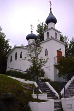 Église orthodoxe russe Saint-Georges - Rouyn-Noranda - Une virée en Abitibi-Témiscamingue - Amérique du Nord, Canada, Québec