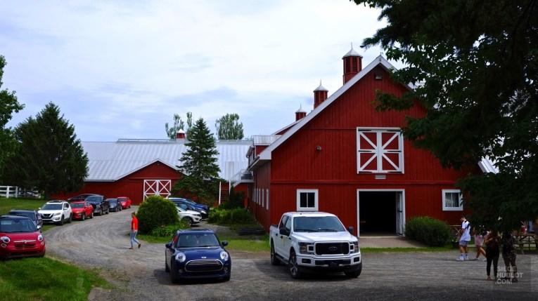 Les écuries - Brasserie Wilsy - Une journée dans les Basses-Laurentides - Amérique du Nord, Canada, Québec, Laurentides