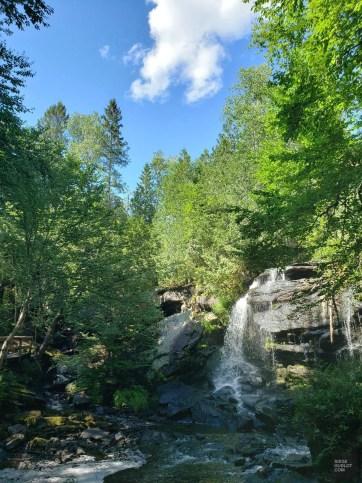 Les Chutes-du-Lac-Roland - Une virée en Abitibi-Témiscamingue - Amérique du Nord, Canada, Québec