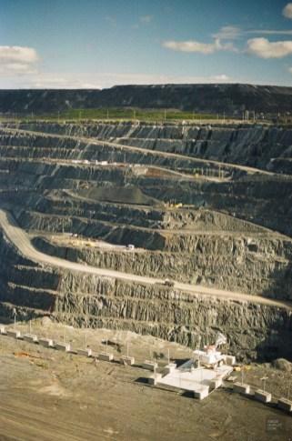 Mine à ciel ouvert - Malartic - Une virée en Abitibi-Témiscamingue - Amérique du Nord, Canada, Québec