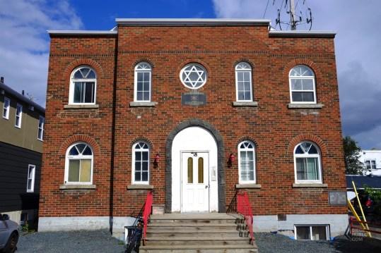 Synagogue Beit Knesset Israel - Rouyn-Noranda - Une virée en Abitibi-Témiscamingue - Amérique du Nord, Canada, Québec