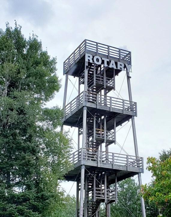 Tour Rotary - La Vallée-de-l'Or - Une virée en Abitibi-Témiscamingue - Amérique du Nord, Canada, Québec