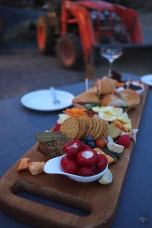 Dégustation à la ferme - Les Paniers du Chef - Balade en Beauce - Amérique du Nord, Canada, Québec, Chaudière-Appalaches