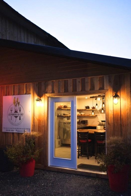 Sa cuisine dans la grange - Les Paniers du Chef - Balade en Beauce - Amérique du Nord, Canada, Québec, Chaudière-Appalaches