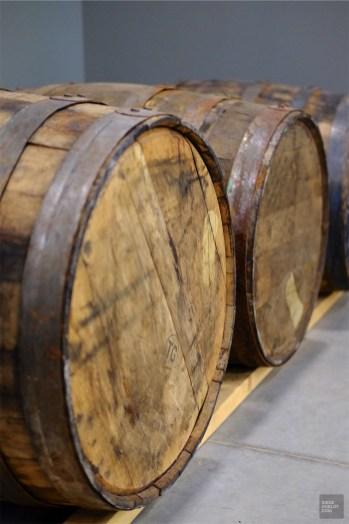 Tonneau - Distillerie Fils du Roy - Un épicurien à Rivière-du-Loup - Amérique du Nord, Canada, Québec, Bas St-Laurent