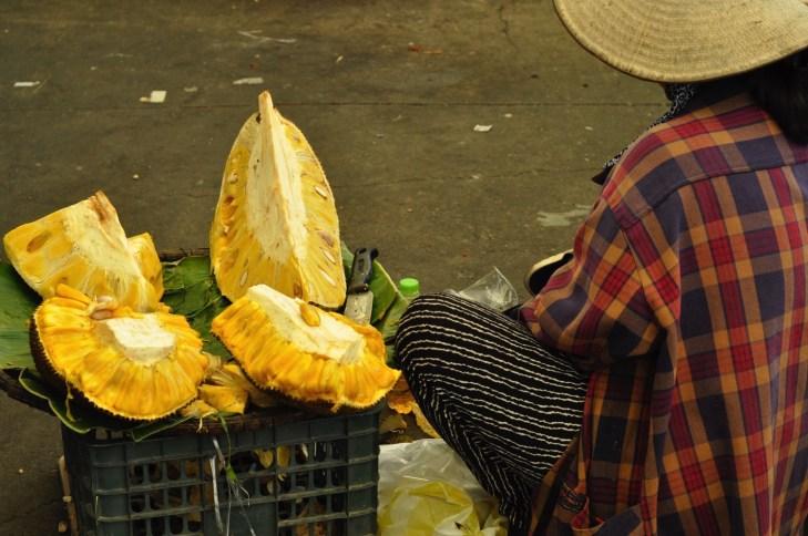 Fruit du jacquier - Manger végé - Les meilleurs restaurants végétariens - Vietnam, Asie