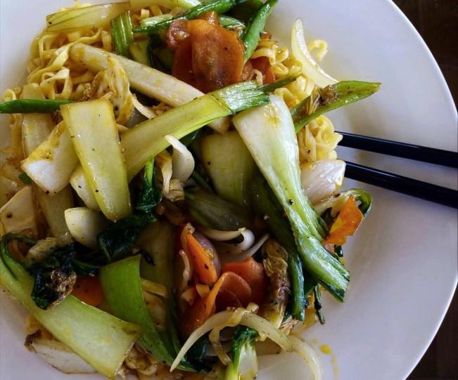 Nouilles sautées - ANs Vegetarian Cuisine - Les meilleurs restaurants végétariens - Vietnam, Asie