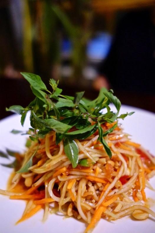 Salade de papaye - Et plus encore! - Les meilleurs restaurants végétariens - Vietnam, Asie