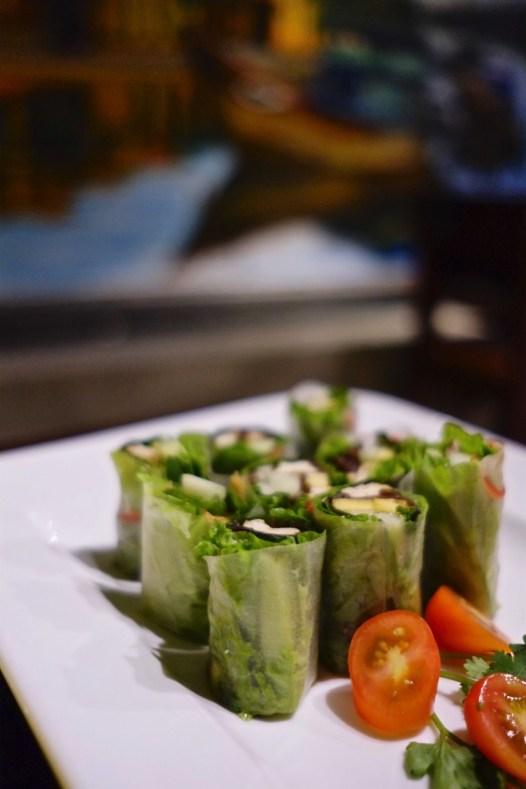 Rouleaux - Phúc An Vegetarian & Cafe - Les meilleurs restaurants végétariens - Vietnam, Asie