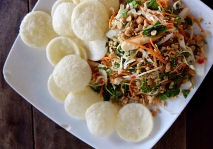 Salade (gỏi) - R.O.M (Revolution of Mushroom) - Les meilleurs restaurants végétariens - Vietnam, Asie
