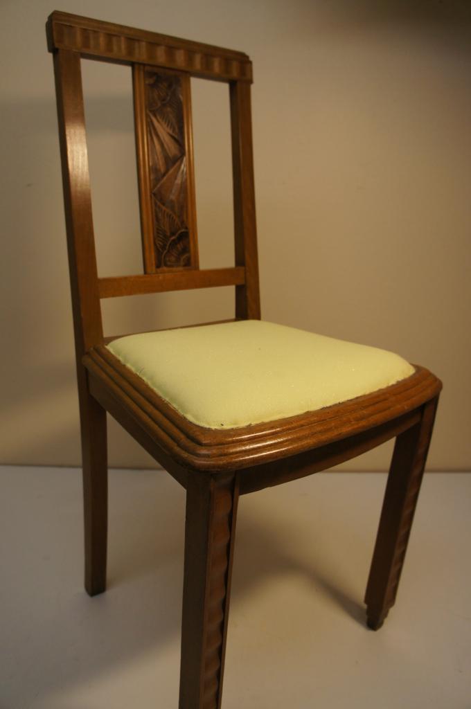 Paire De Chaises Art Dco
