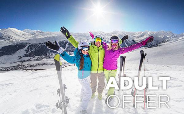adult siegi tours ski holiday package offer austria