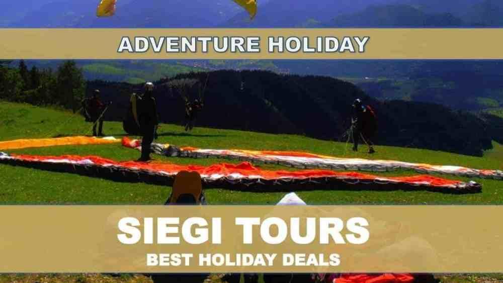 Tandem Paragliding Siegi Tours Adventure