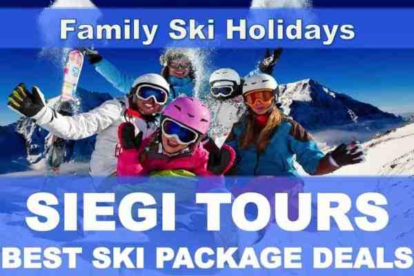 Family Ski Holiday Siegi Tours