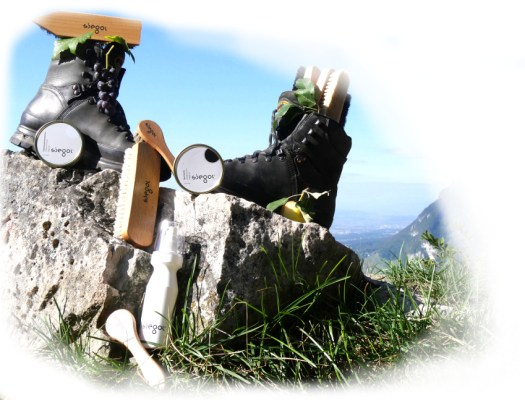 Siegol maintenance products for hikers
