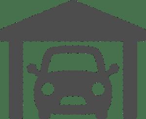 Warsztat samochodowy ikona