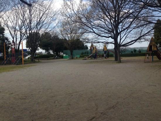 出羽公園の小さな遊具1