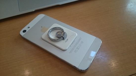 ケースなしのiPhone5
