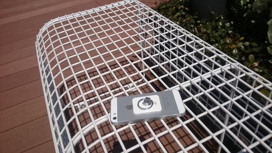 ベンチとiPhone5