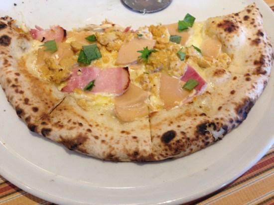 ベッライタリアのピザ