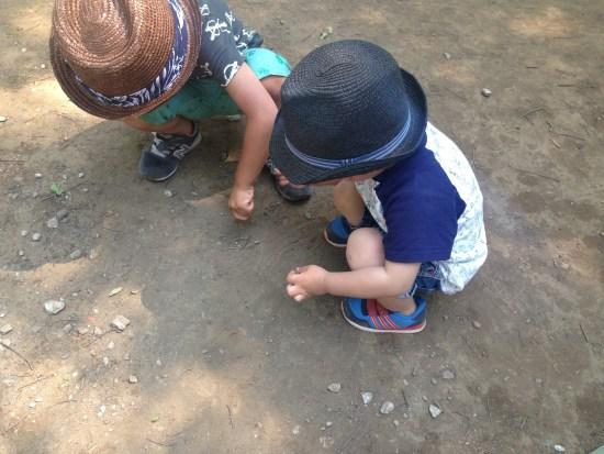 大崎公園の子供たち