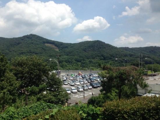 佐野SAの景色