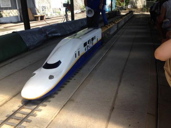 グリーンセンターのミニ鉄道