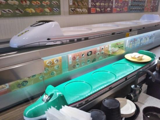 かっぱ寿司の特急