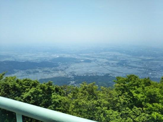 女体山の展望台