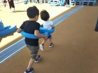 子供が本気で爆笑するのは子供と遊んでいるとき。子供同士で遊ぶ機会も大切だと感じる