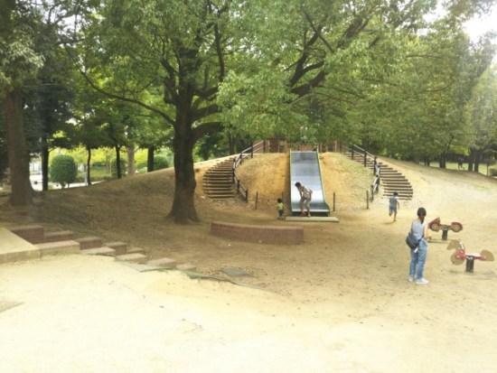 柏の葉公園の冒険のトリデ