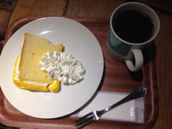 ホノルルコーヒーのシフォンケーキ