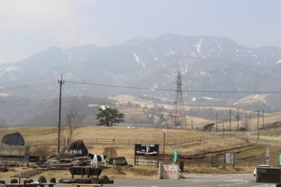 大笹牧場の景色