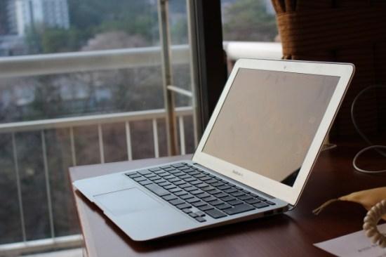 MacBookAirの画像