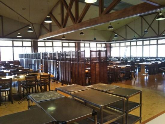 大笹牧場のレストラン