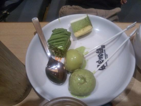串家物語のデザート
