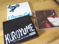 黒夢・ラルク・GLAYが好き。昔聴いていたCDを買ってみたら懐かしくてテンション上がる