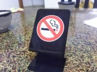 タバコの匂いがするお店には行かない。匂いには気をつけたい