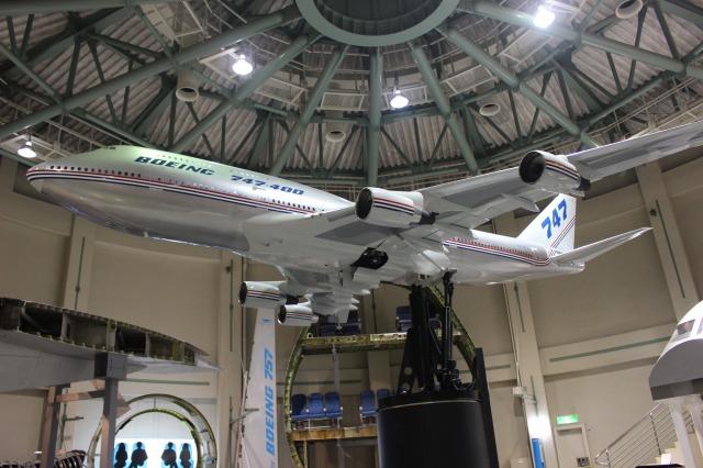 航空科学博物館が楽しい!本物の飛行機が間近でみることができて子供が大興奮